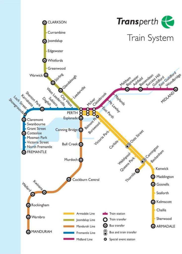 パース路線図